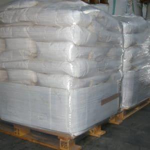 1000 Kg = 50 sacs de 20 kg sur palettes filmées